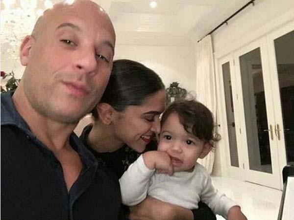 Deepika Padukone Meets Pauline Diesel, Deepika Padukone