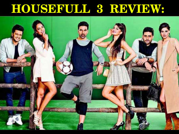 Housefull 3 Movie Review, Story Plot And Rating Starring Akshay Kumar    Filmibeat