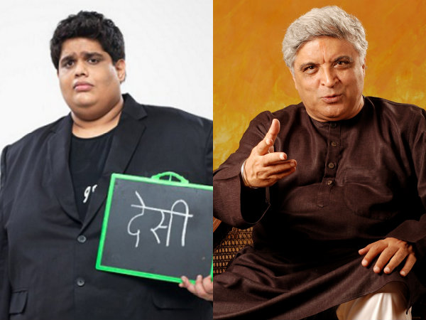 Javed Akhtar Tanmay Bhat
