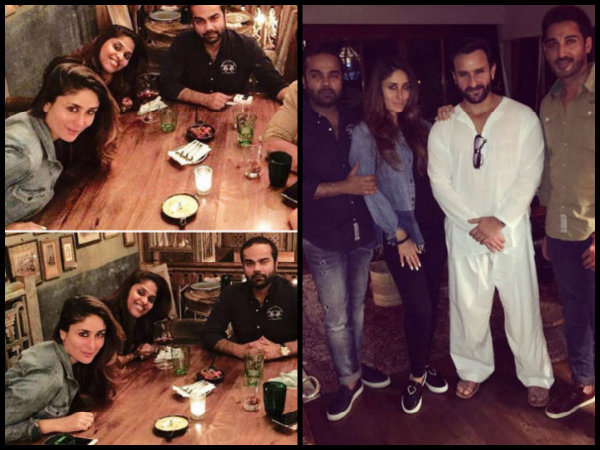New Pics: Amidst Pregnancy Rumours, Kareena Parties With Hubby & Friends!