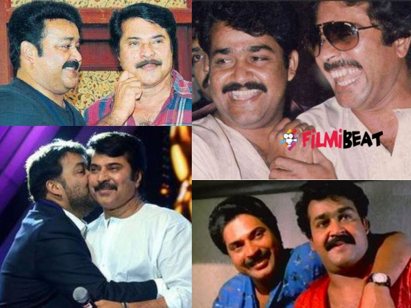 PHOTOS: When Mammootty & Mohanlal Gave Us Friendship Goals!