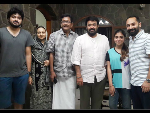 mohanlal family members occupation interview essay