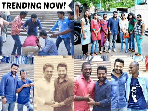 PHOTOS From Janatha Garage Sets: The Love Is Mutual Between NTR & His Fans