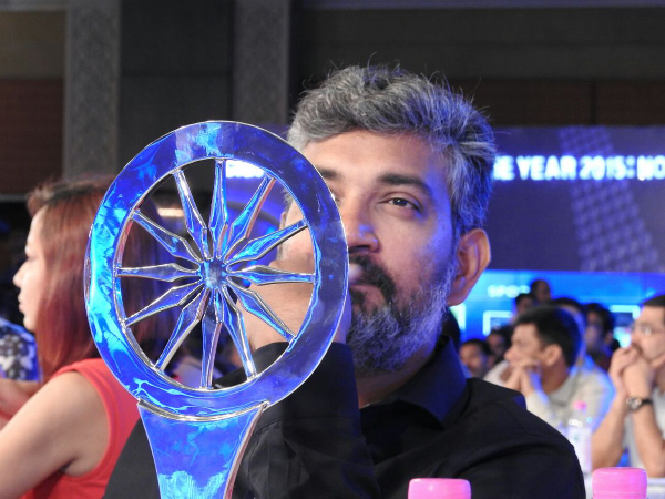 Vision Behind Baahubali, Rajamouli Honoured With 'Indian Of The Year' Award
