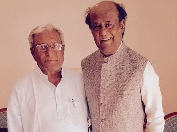 Sathyanarayana With Rajinikanth