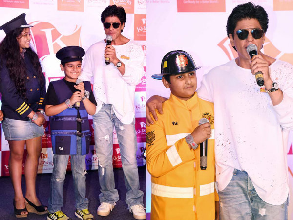 Shahrukh Khan Kids Event KidZania