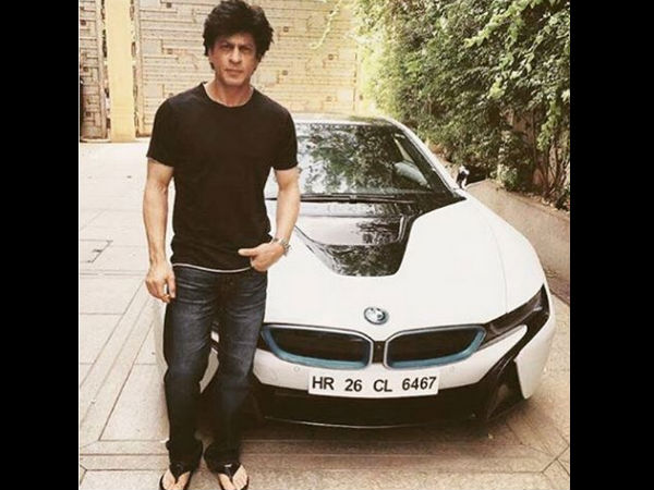 Shahrukh Khan New Car