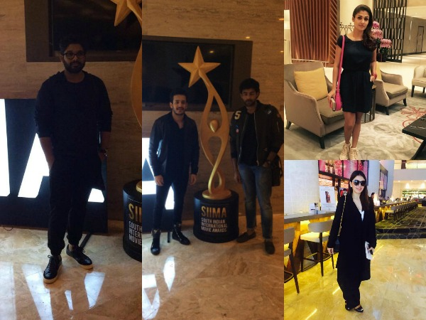 PHOTOS: Tollywood Celebs In Singapore For SIIMA 2016, Lakshmi Manchu To Host The Show