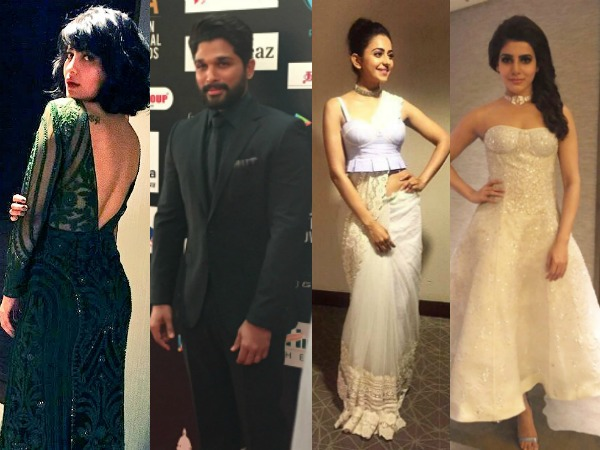 LIVE NOW: SIIMA 2016 Red Carpet PHOTOS, Telugu Celebrities Fashion Game Is On Point!