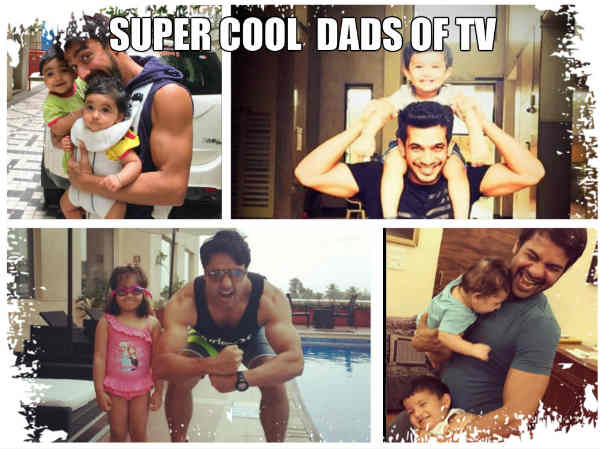 Father's Day Spl: Shabbir Ahluwalia, Arjun Bijlani, Amit Tandon, Iqbal Khan… TV's Super Cool Dads