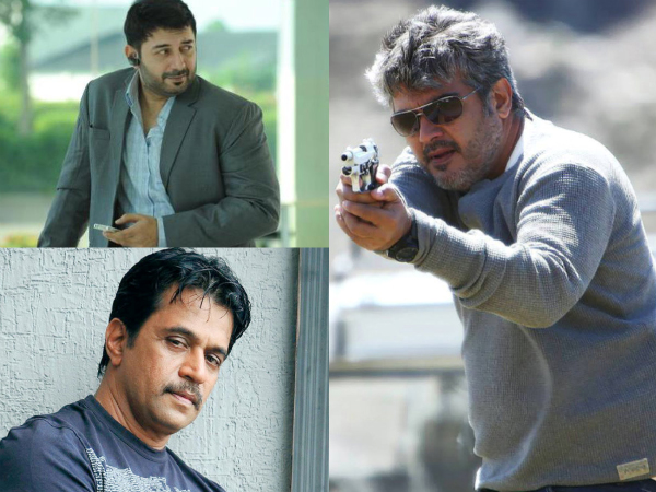 Arvind Swamy & Ajith In Thala 57