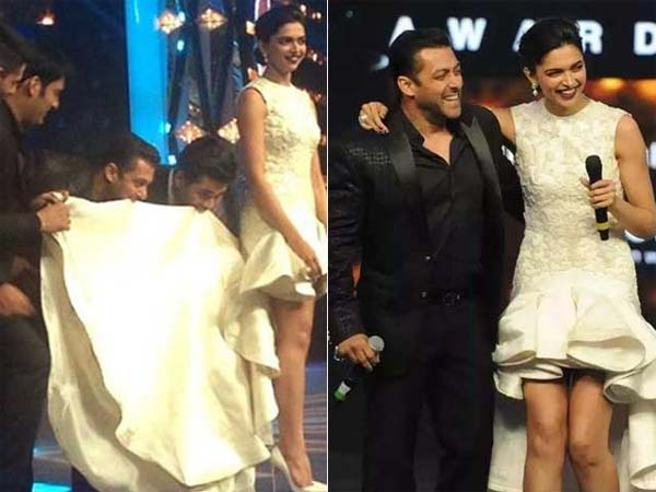 Deepika Padukone And Salman Khan Movie Salman Khan Ang...