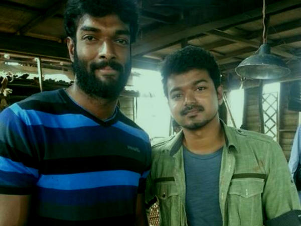 Charandeep & Vijay In Jilla