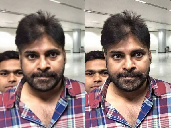 PHOTOS: Pawan Kalyan's Special Darshan To Sharrath Marar