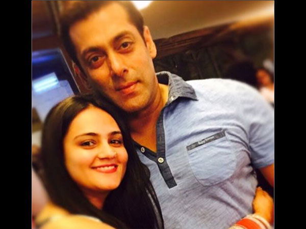 Salman khan's sister grabbed a short film