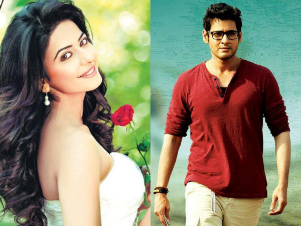 CONFIRMED NOW! That Day Would Be Rakul Preet's First Date With Mahesh Babu