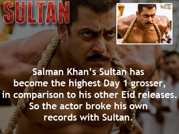 Sultan 2nd Day Collection: Crosses 70 Crores On Thursday At Box Office