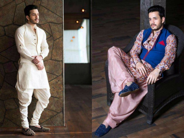 PHOTOS: Akhil Akkineni Adds His Charm To Shilpa Reddy's Ethnic Collection