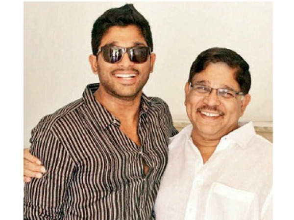 Allu Aravind Is Super Proud Of His Son Allu Arjun, Here's Why!