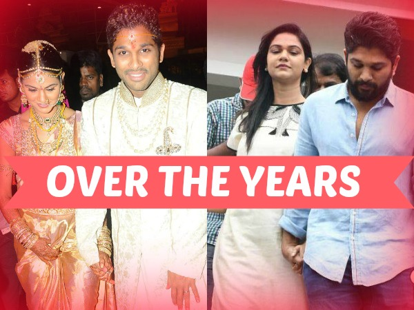 #CouplesGoals: See How Allu Arjun Never Left Sneha Reddy's Hand From The Day Of Marriage To Now