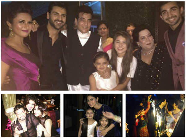 NEW PICTURES: Divyanka Tripathi & Vivek Dahiya Reception: Karan, Anita, Sweety & Others Party Hard!