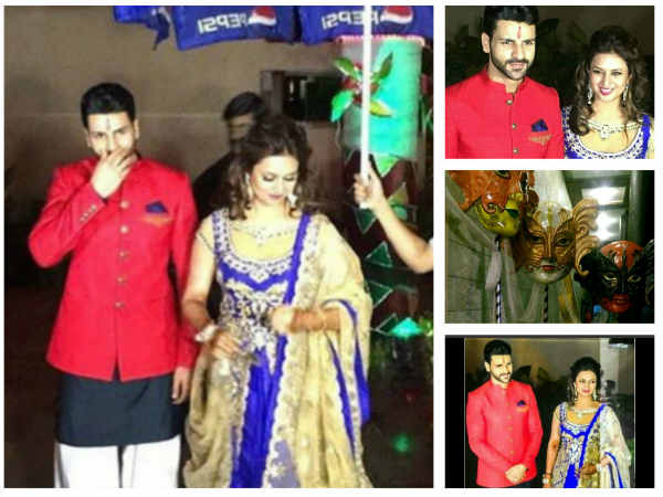 Divyanka Tripathi Mehndi Ceremony : Check out divyanka tripathi vivek dahiya sangeet first look