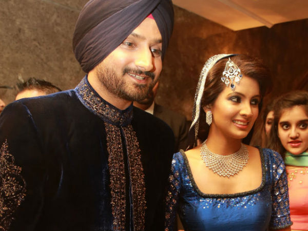 Harbhajan Singh Geeta BAsra Blessed With A Baby Girl London