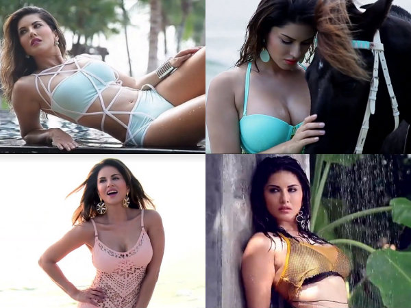 Sunny Leone Hot Manforce Calendar Photo Shoot
