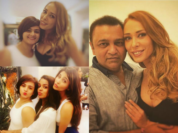 Iulia Vantur Birthday Party Daisy Shah