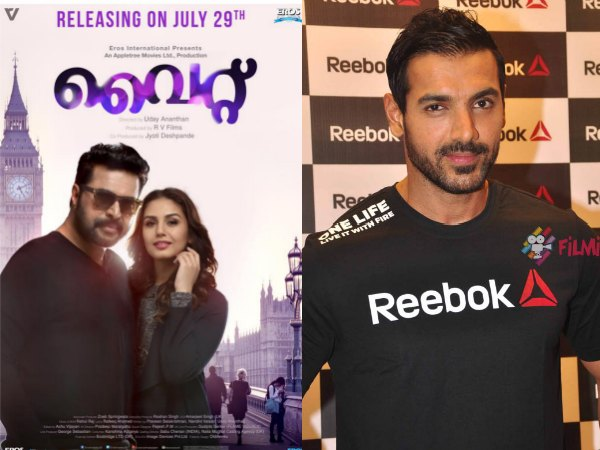 Wow! John Abraham Does A Dubsmash To Promote Mammootty's White!