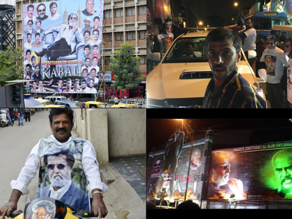 Kabali In Bangalore