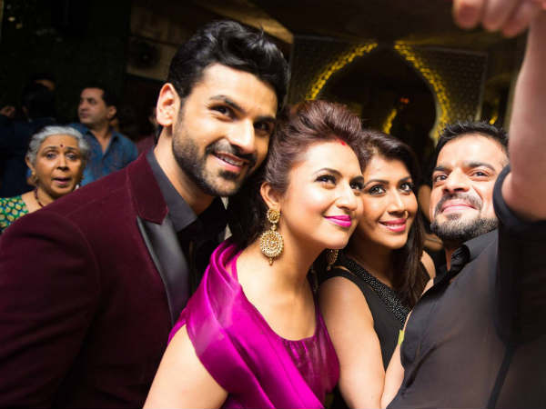 Oops! Karan Patel Snubs Media At Divyanka Tripathi and Vivek Dahiya's Reception Party!