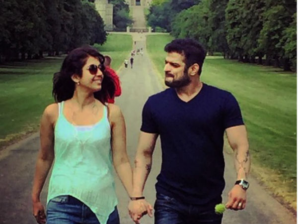 Karan Patel & Ankita Bhargava's Honeymoon In London! (PICS)