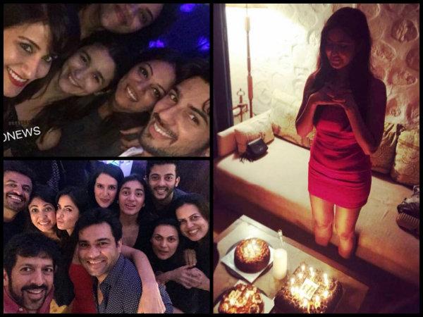 Katrina Kaif's Birthday Bash Pictures!