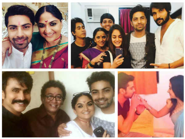 Shravan Reddy Aka Aryan Celebrates Birthday With Krishnadasi Team