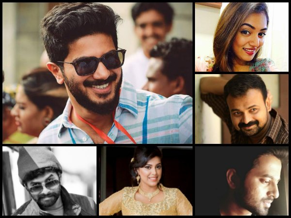 In Pics! M'Town Celebrities Wish Dulquer Salmaan On His Birthday!