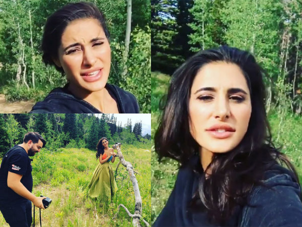 Nargis Fakhri Storm Mountain Photoshoot Utah USA America