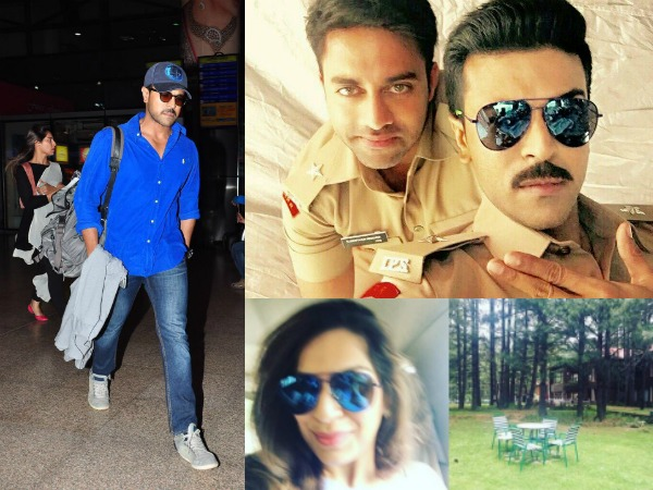 Ram Charan Wraps Up Dhruva's Latest Schedule, Snippets From Shoot & Airport Spotting