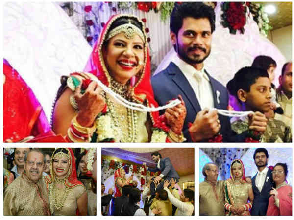 Ex-Bigg Boss Contestant Sambhavna Seth Ties The Knot With Beau Avinash Dwivedi [PICS]