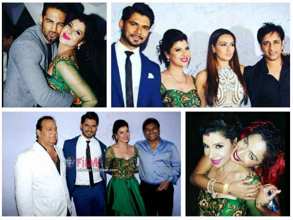 Sambhavna & Avinash's Reception: Upen Patel, Diandra Soares, Johnny Lever & Others Attend (PICS)