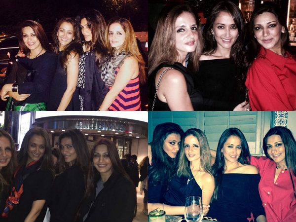 Sussanne Khan Sonali Bendre London Holiday