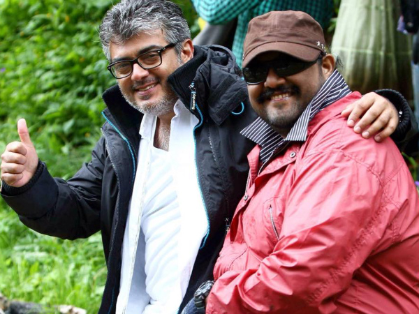 Ajith With Siva In Thala 57