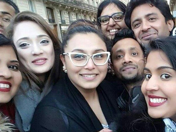 Rani With Fans