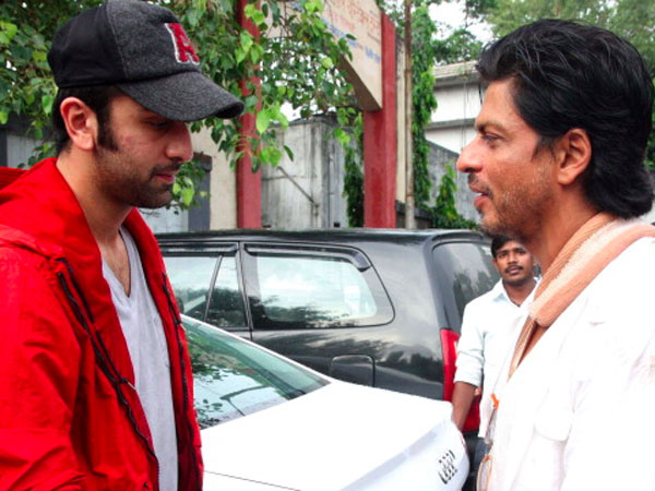 Ranbir Spotted With Shahrukh