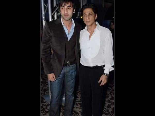 Ranbir Posing With SRK