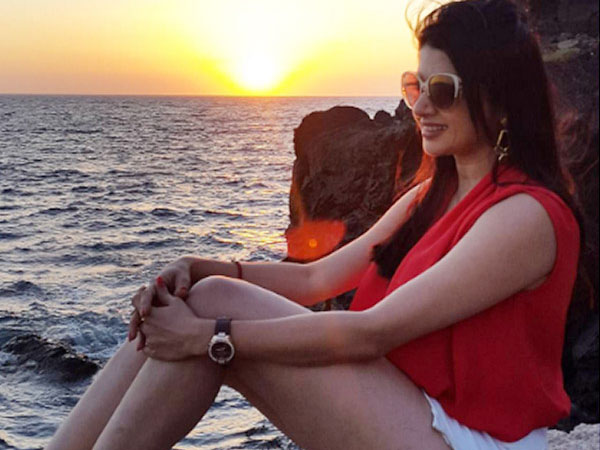 Bhagyashree In Greece