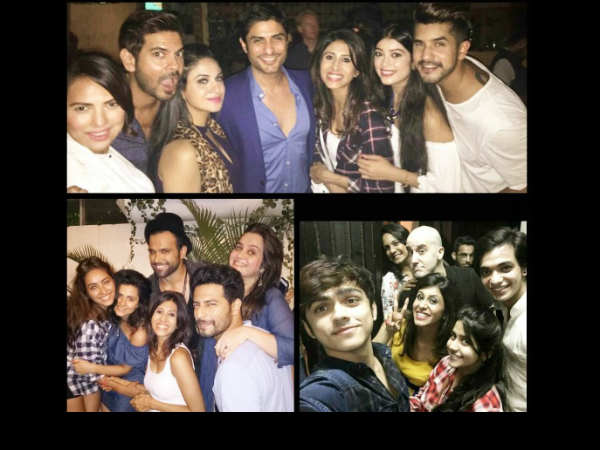 Kishwer With Her BB 9 Friends