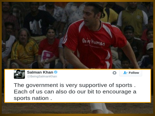 Salman Praises The Government