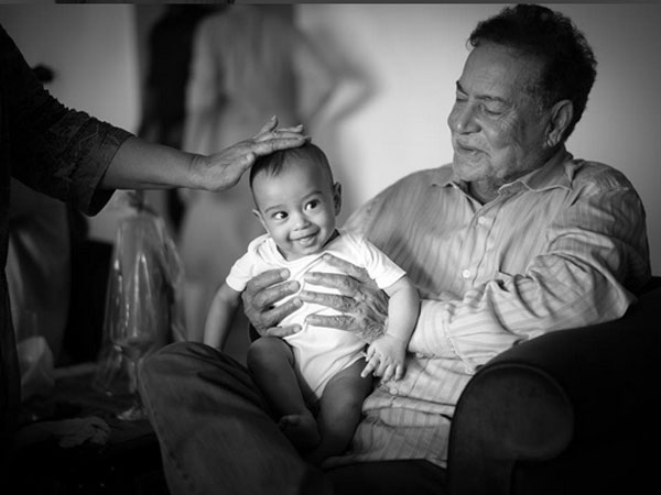Ahil with Grandpa
