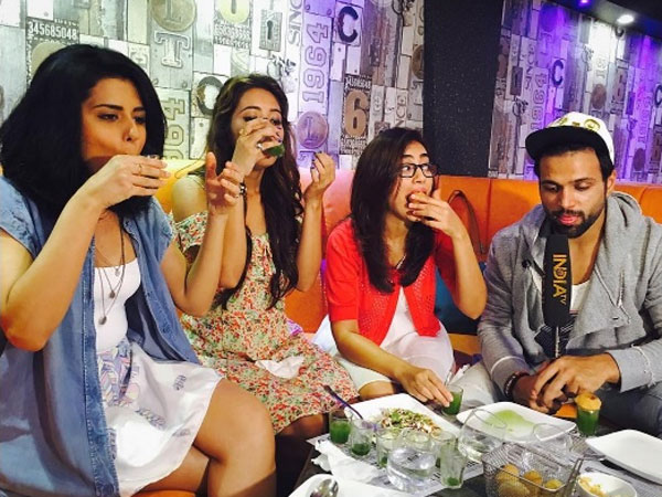 Asha Parties With Friends